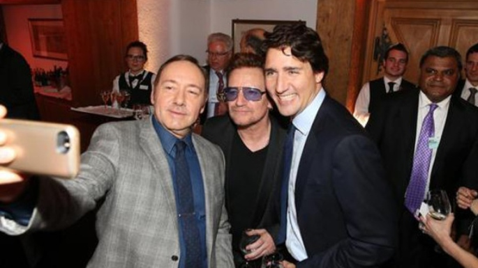 kevin-spacey-bono-and-justin-trudeau