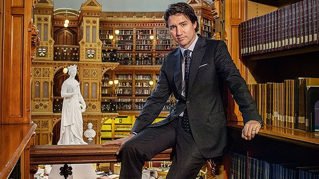 Leaning Trudeau
